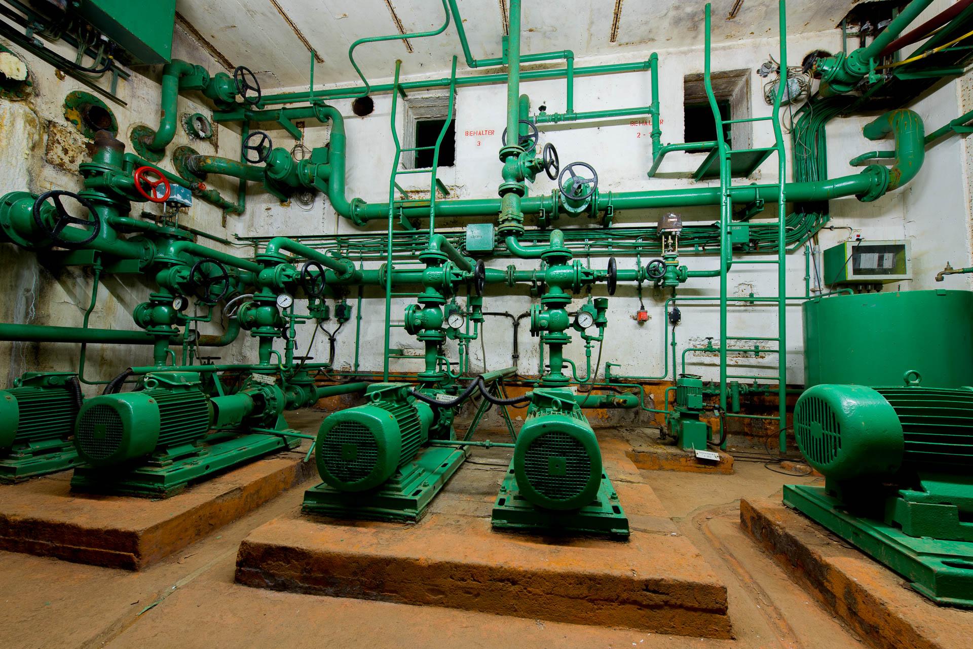 Wasserwerk Bunkermuseum Fuchsbau