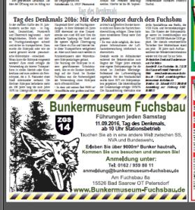 Artikel FW http://www.hauke-verlag.de/index.php/fw-die-fuerstenwalder-zeitung vom 31.08.2016